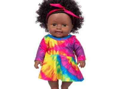 Amazon: Realistic Black Baby Girl Doll Toy 11.8 Inch for $14.99 (Reg. Price $31.98)
