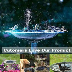 Amazon: Solar Fountain for only $5 (Reg: $17.99)