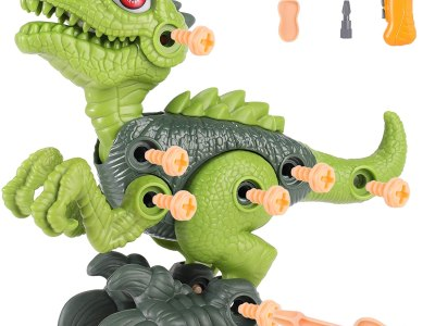 Amazon: Take Apart Dinosaur Toys for Boys ,Kids Dinosaur Toys , Building Toy Set, Just $9.99 (Reg $19.99) after code!