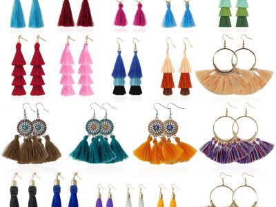 Amazon: Tassel Earrings for Women - 20 Pairs, Just $9.95 (Reg $16.59) after code!
