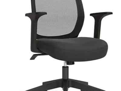 Staples: Union & Scale™ Essentials Mesh Back Fabric Task Chair, Just $69.99 (Reg $129.99)