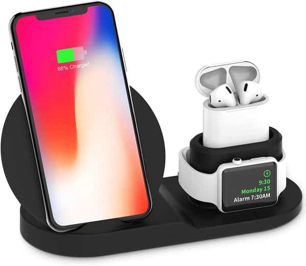 Amazon: Wireless Charger, 3 in 1, Just $6.99