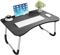Amazon: Laptop Bed Table w/ Foldable Legs $13.49 (Reg. $26.99)
