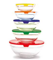 Belk: Farberware 10-Piece Bowl Set ONLY $10 (Reg. $25)