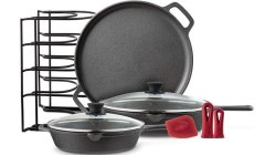 Amazon: Cast Iron Cookware 6-Piece Set ONLY $62.39 (Reg $100) + FREE Shipping