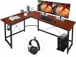 Amazon: Modern L-Shaped Home Office Desk 66 inch $34.00 (Reg. $159.99)