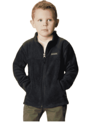 Amazon: Columbia Boys' Steens Mt II Fleece Jacket Black for $6.75