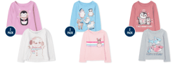 The Children's Place: Girls' Clearance Graphis Tee, Starting at $0.99 Shipped