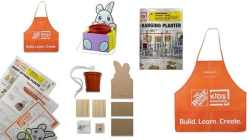 FREE Kids' Bunny Hanging Planter Kit