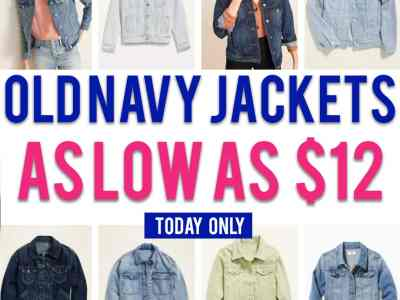 Old Navy: Women's Jacket, for as low as $12!