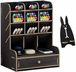 Amazon: Marbrasse Wooden Desk Organizer $10.19 (Reg. $16.99)