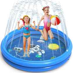 Amazon: Splash Pad & Swimming Pool $9.88 (Reg. $20)