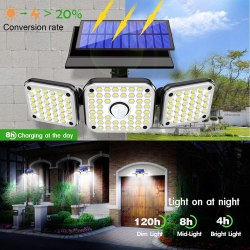 Amazon: 112 LED Solar Motion Lights $11.99 (Reg. $19.99)