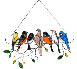 Amazon: Birds Decoration Window Suncatcher for $8.49 (Reg. $16.99)