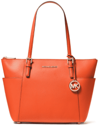 Macy's: Michael Kors Jet Set Large Crossgrain Leather Tote for ONLY $89.10 (Reg. $198.00)
