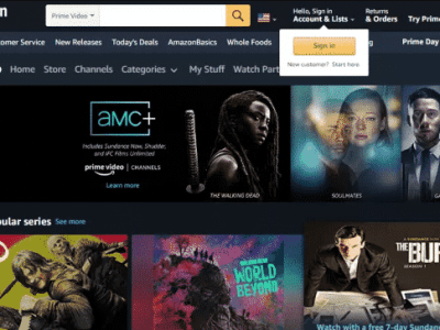 2 Months of AMC+ Streaming Service Just $1.98 for Amazon Prime Members