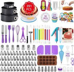 Amazon: Cake Decorating Supplies, 391 Pcs $21.49 (Reg. $42.99)
