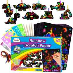 Amazon: Magic Craft Rainbow Paper -- FREE!!!