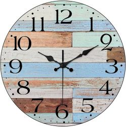 Amazon: LAMIKO Wall Clocks Non-Ticking Silent $4.80 (Reg. $13.99)