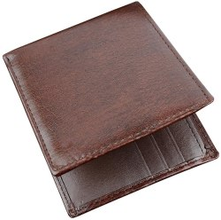 Amazon: Soft Leather Wallet for Men Just $0.2 (Reg. $15.99)