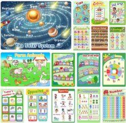 Amazon: Preschool Learning Posters - Price Drop - FREE