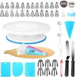 Amazon: 170 Pcs Cake Decorating Tools Kit $13.99 (Reg. $27.99)