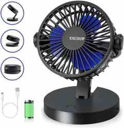 Amazon: EXCOUP USB Desk Fan $2.40 (Reg. $25.99)