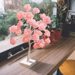 Amazon: Auelife 32 LED Table Lamp Rose $12.89 (Reg. $29.99)