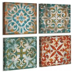 Amazon: 4 Pieces Wall Art Decor Boho Mandala Vintage Abstract Canvas for $5 (Reg. $16.90)
