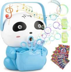 Amazon: Portable Automatic Bubble Blower for Kids $3.99