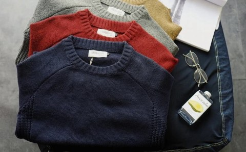 The 5 best-selling men's wool sweaters from AliExpress