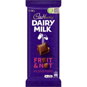 Cadbury Dairy Milk Fruit & Nut Chocolate 180g