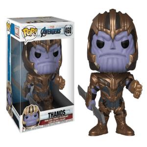 "Thanos Pop Vinyl Large 10"" Figure #460 Marvel Avengers"