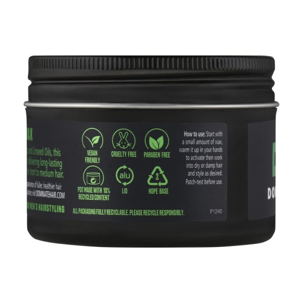 Dominate Men Rock Solid Hair Wax Extreme Strong Hold 95g
