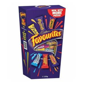 Cadbury Favourites Chocolate Gift Box 373g