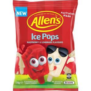 Allens Ice Pops Lollies Bag 170g