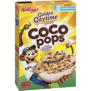 Kelloggs Coco Pops Golden Gaytime Breakfast Cereal 330g
