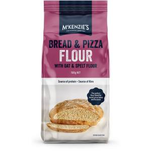 Mckenzies Bread and Pizza Flour 500g