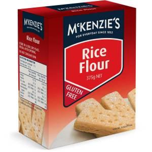 Mckenzies Rice Flour Gluten Free 375g