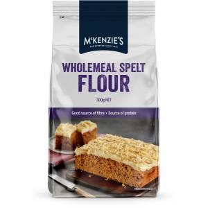 Mckenzies Wholemeal Spelt Flour 300g