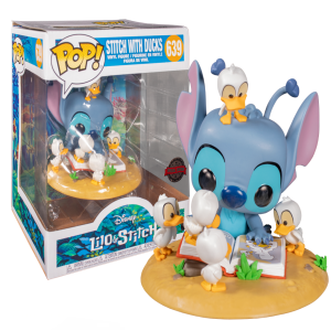 Lilo and Stitch with Ducks Deluxe Pop! Vinyl Figure