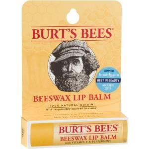 Burts Bees Moisturising Lip Balm Beeswax 4g Pack