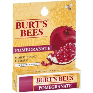 Burts Bees Moisturising Lip Balm Pomegranate 4g Pack