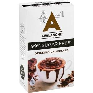 Avalanche Sugar Free Hot Drinking Chocolate 10 Pack