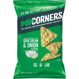 Popcorners Sour Cream and Onion Popcorn Crisps Large Bag 550g