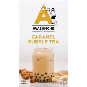 Avalanche Caramel Bubble Tea Sachets 5 Pack