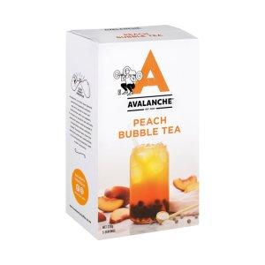 Avalanche Peach Bubble Tea Sachets 5 Pack