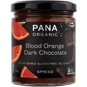 Pana Organic Blood Orange Dark Chocolate Spread Gluten Free 200g