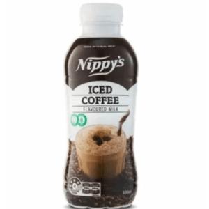 Nippys Iced Coffee Flavoured Milk Bottle 500ml X 6 Bottles