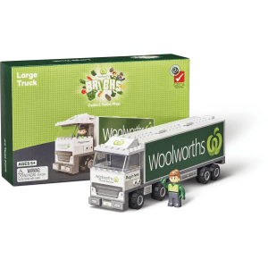 Woolworths Woolies Bricks Large Truck Collectables Promotion